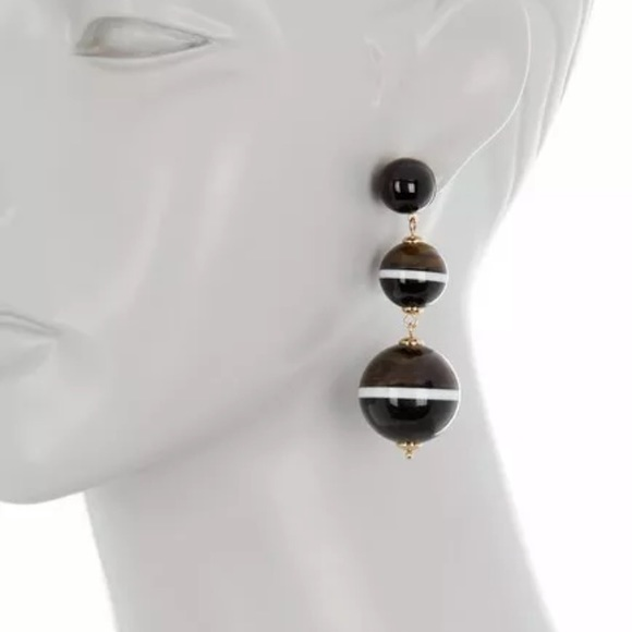 kate spade Jewelry - NWT $78 Kate Spade in a flash Dangle Earrings